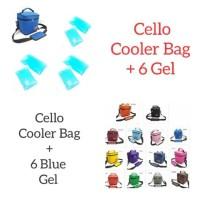 Tas Asi Murah Cooler Bag Murah Cello Free 6 Ice Gel CELLO - YELLOW