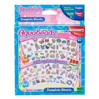Mainan Edukasi Aquabeads Template Sheets