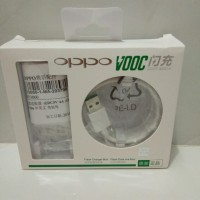 Charger Oppo VOOC F3 F9 R7 N3 FIND 7 Fast Charging Original 100% - Putih
