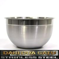 Mixing Bowl Stainless Supra Baskom Adonan Kue 33 cm