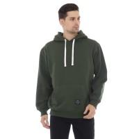 Sweater Hoodie Pria Cottonology Polos Hijau