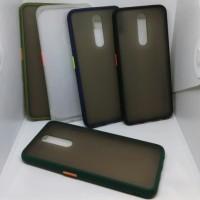 case matte macaron tpu hardcase case doff Oppo F11 pro