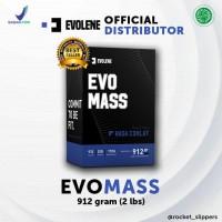 EVOLENE Evomass Gainer 2 lbs / 912 gram - Evo mass Suplemen Massa Otot
