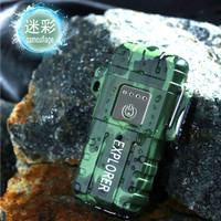 Explorer Korek Api Elektrik Plasma Arc Outdoor Waterproof F1250