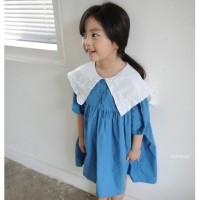 Punching Dress, Korea Kids, Fashion Anak, Baju Impor, Baju Korea
