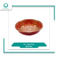 Virtuspack / Mika Nampan / Platter Sushi OK-3 Red China /15 pcs