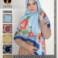 Jilbab / Hijab / Kerudung terbaru noor syari motif by azara