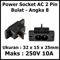 Socket Terminal Listrik Box Soket AC Angka8 Angka 8