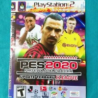 Kaset CD Game Playstation 2 Pes 2020 Update Terbaru Paling Baru