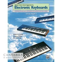 Alfred's Basic Chord Approach to Electronic Keyboards Lesson Book 3