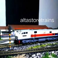 miniatur Kereta api mesin