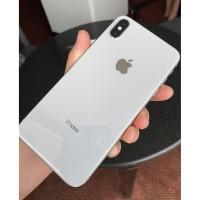 IPHONE XS MAX 512GB SILVER MULUS NO MINUS APAPUN MURAH BUTUH UANG