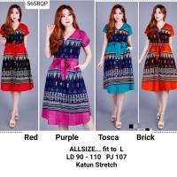 Dress Batik Wanita Cantik Murah