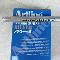 spidol permanen Artline warna silver 2.3mm
