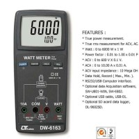 Lutron DW-6163 Digital Watt Meter