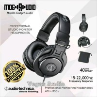 headphone AUDIO TECHNICA ATH-M30X profesianl studio monitor Original
