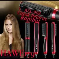 CATOK ASL908 | Catok Sisir Pelurus Rambut New Fast Hair Straightener
