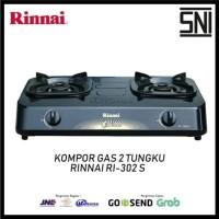 Kompor Rinnai 302s + Selang Gas Gastron (SNI)