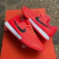 Sepatu Futsal Nike Magista X Finalle Red Orange IC