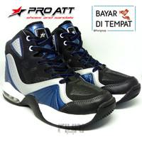 Pro ATT Original - Jordan Biru - Sepatu Basket Pria Wanita Ori Promo