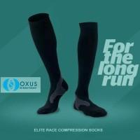Promo Elite Race Compression Socks Running Marathon Lari Not 2Xu
