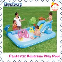 Bestway Fantastic Aquarium Play Pool Kolam Renang Anak