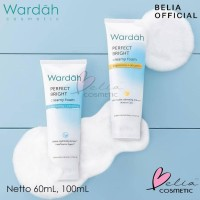 ❤ Belia ❤ Wardah Perfect Bright Series   Creamy Foam Moisturizer