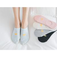 KK004 Kaos Kaki Pendek Love Wanita Low Socks