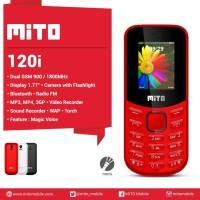 MITO 120i Magic Voice - Dual Sim - Garansi Resmi