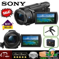 Terlaris ! Sony Fdr-Ax53 4K Ultra Hd Handycam Camcorder Ⓢ
