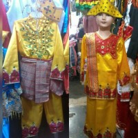 HOT SALE Pakaian baju adat anak gorontalo size S - M Lk/Pr TERJAMIN