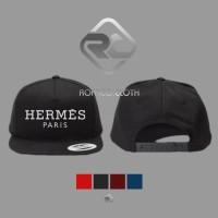 TOPI SNAPBACK LOGO Hermes Paris - ROFFICO CLOTH