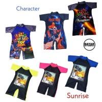 Terjozz Baju Renang Diving Anak Tk Cowok Laki-Laki Karakter - Size Di