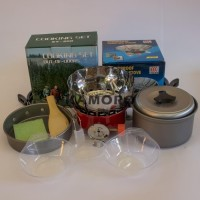 Paling Murah Paket Cooking Set Ds/Sy 200 Plus Kompor Windproof Merk