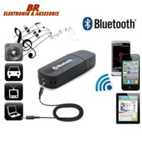 USB BLUETOOTH RECEIVER ADAPTER + KABEL AUX 3,5MM