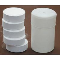 KAPORIT TABLET BESAR 90% TCCA    1kg (5 TABLET)