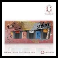 Madame Gie Nail Shell Peel Off 1 Set (Isi 6 Botol) - Natural