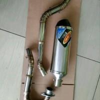 knalpot HONDA CRF 150 FMF racing fullstainless aksesoris parts