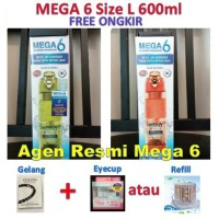 Mega 6 Far Infrared Hydrogen Water (Botol Mega 6 Terapi Diabetes) Agen