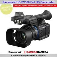 Camcorder Panasonic Hc Pv100 Resmi Full Hd Camcorder Professional