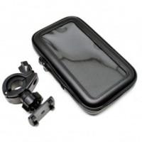 LIXADA Universal Bike Mount Waterproof Case for Smartphone 5.5-6 Inch
