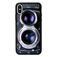 Casing HP iPhone X Hardcase Twin Reflex Camera Y1901