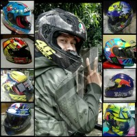 TERLARIS Decal Sticker cutting Helm KYT RC SEVEN VR46 PROJECT