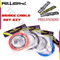 Kabel Rem Brake Set Kit Sepeda Lipat MTB Road Bike Dahon Fnhon RISK