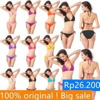 Cantik BIG!!!Baju Renang Wanita: Set Bikini Bandage+Celana Model