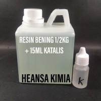 RESIN BENING 1/2KG + KATALIS