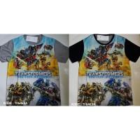 Kaos Anak Laki laki merk FURO Transformers size 16,18,20