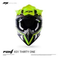 JPX Cross Full Face X31 Thirty One Black Doff / Yellow