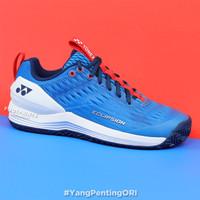 Sepatu Tenis Yonex Power Cushion Eclipsion 3 Blue White Tennis Shoes