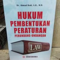Hukum Pembentukan Peraturan Perundang Undangan